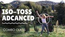 Advanced hula hoop class illusions