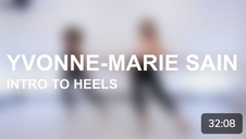 Intro to Heels with Yvonne-Marie Sain
