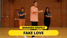 Bhangra Shuffle -  Ft. The Williams Fam