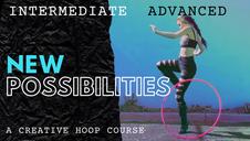 Intermediate to advance hula hoop lessons