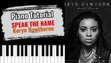 Speak The Name (Koryn Hawthorne)