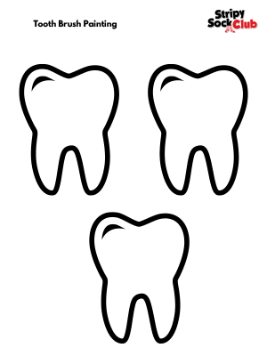 Brush Your Teeth Activity Sheet
