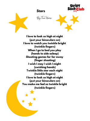 Stars Poem With Actions