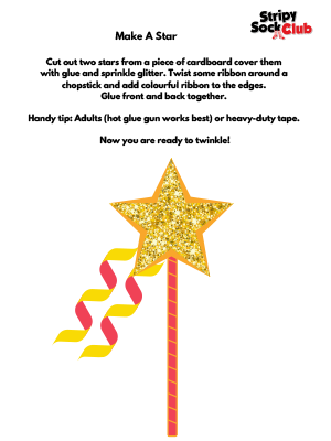 Make A Star Craft Project Instructions