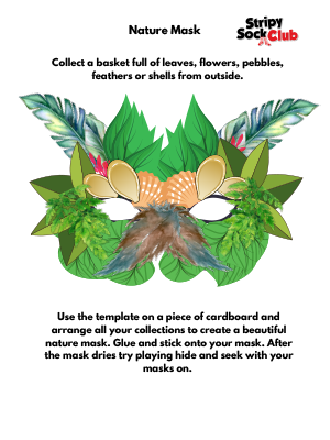 Nature Mask Craft Project Instructions