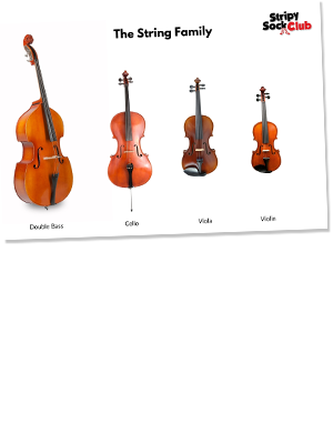 The String Family Printable Poster