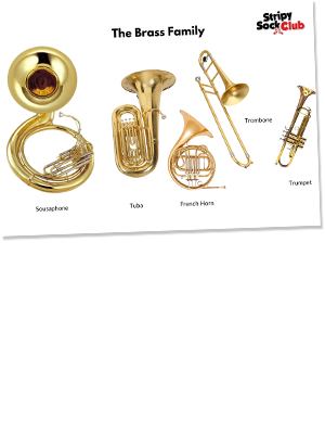 The Brass Family Printable Poster