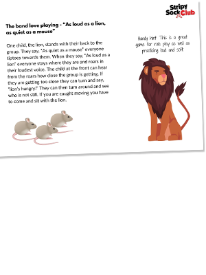 Quiet As A Mouse Activity Sheet