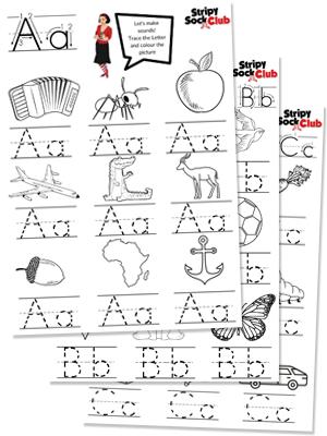 ABC Phonics Sheets Activity Sheets