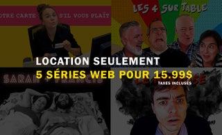 "price option <p><span style=""color: #ffde01ff;"" >LOCATION 5 SÉRIES WEB</span></p>"