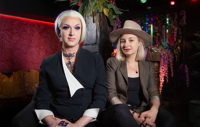 <p>Hoax &amp; Danielle | The Drag Agency</p>