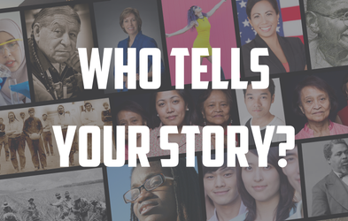 """<p><span class=""""font-bold"""">WHO TELLS YOUR STORY?</span></p>"""