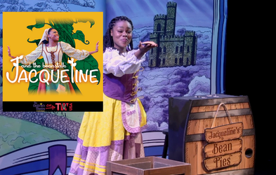 """<p><span class=""""font-bold"""">JACQUELINE AND THE BEANSTALK</span></p>"""