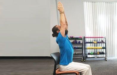 <p>Chair Yoga</p>