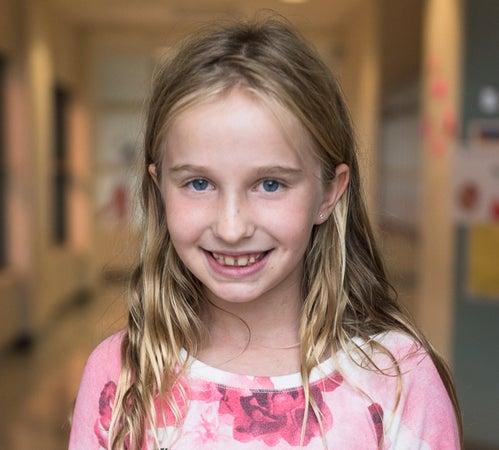 - Olivia <br> Age 11