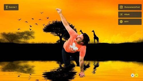 Beginner 'Animal' Yoga - Flow 2