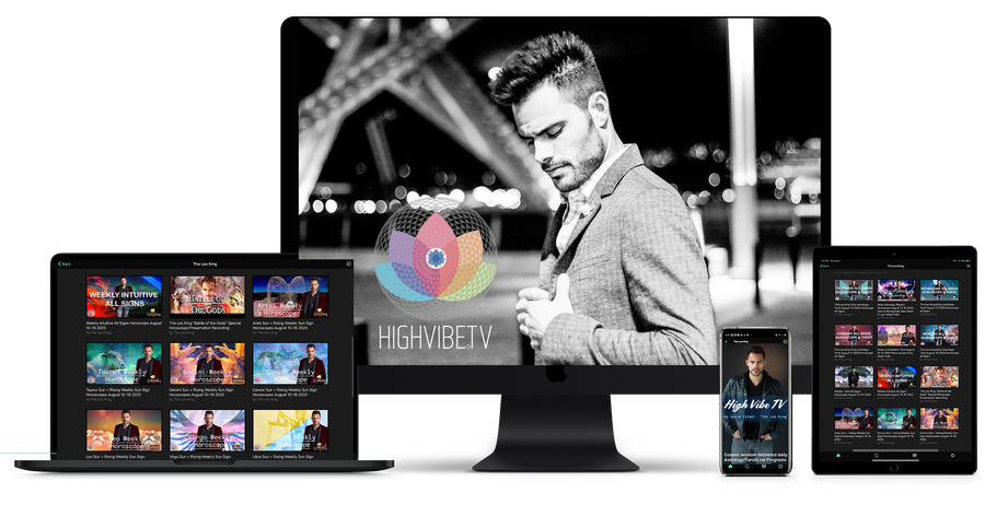 EXPERIENCE HIGH VIBE TV ACROSS ALL PLATFORMS