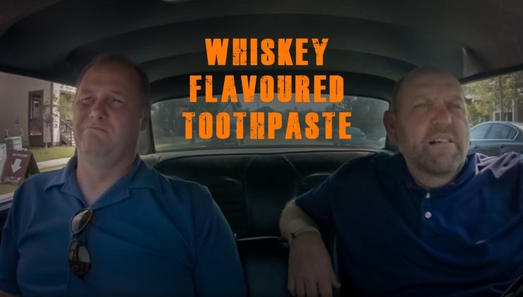 Whiskey Flavoured Toothpaste