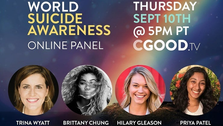CGOOD TV Live Replay:  Honored to Help – World Suicide Awareness Panel