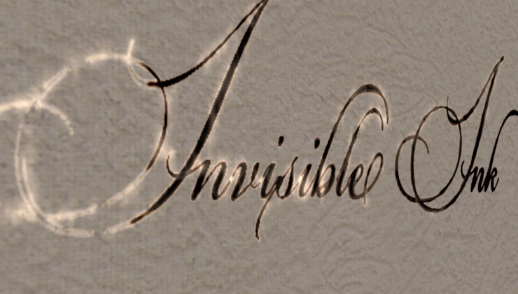 Invisible Ink – Series