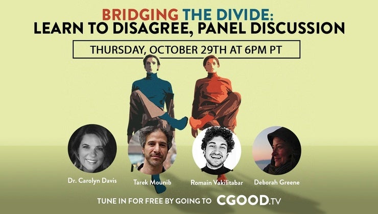 CGoodTV Live Replay:  Bridging The Divide Talk: Learn to Disagree